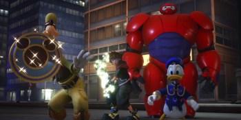 Kingdom Hearts III shows off its Big Hero 6 level