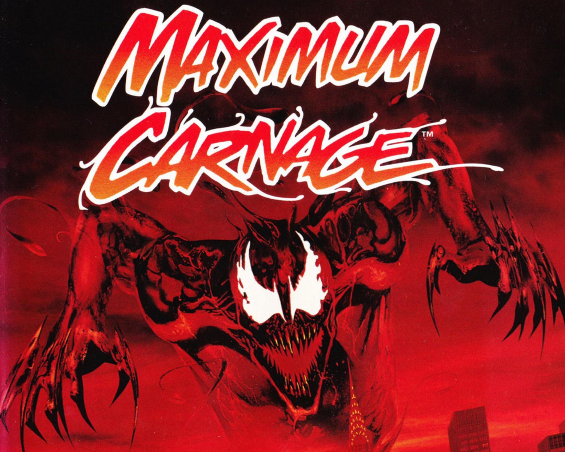 The Retrobeat Maximum Carnage Aka Spider Man And Venom S Buddy