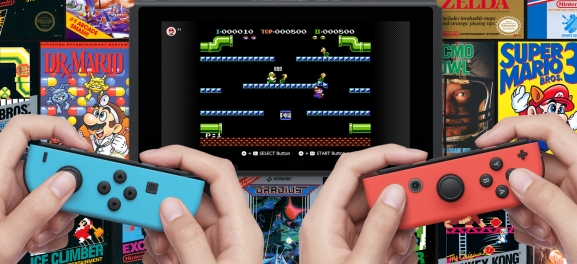 NES games on Switch.