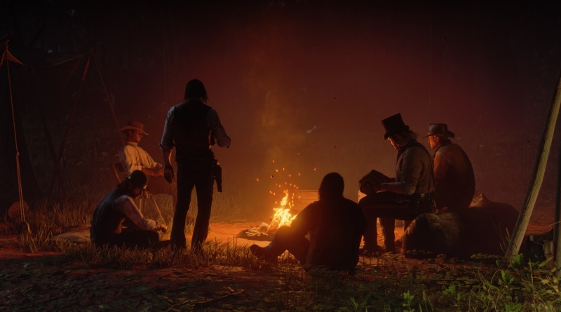 The gang's campfire stories.