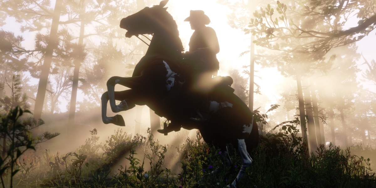 Red Dead Redemption 2 has amazing visuals.