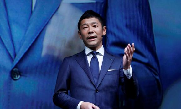 Yusaku Maezawa, the chief executive of Zozo, which operates Japan