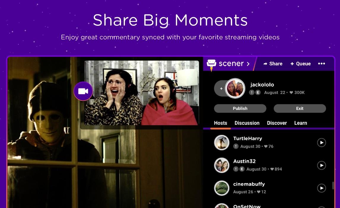 Realnetworks Scener Lets Fans Leave Twitch Like Comments On Netflix