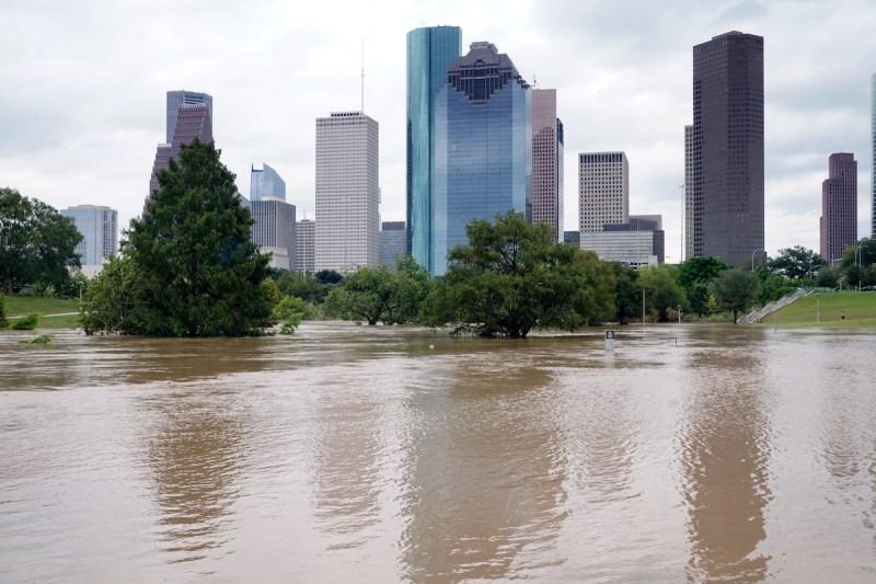 Flooding during Hurricane Harvey.