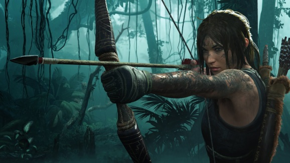 Lara Croft in Shadow of the Tomb Raider.
