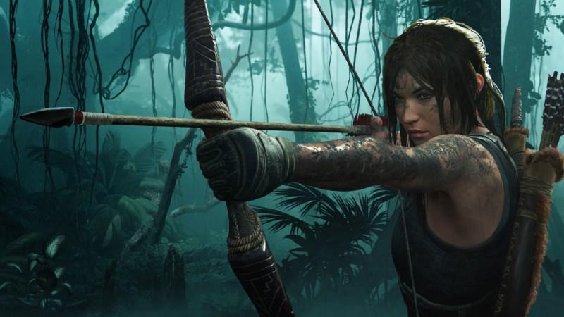 Lara Croft in Shadow of the Tomb Raider.