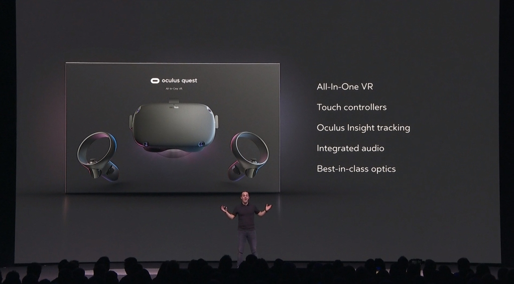 Oculus Santa Cruz is Quest, will offer standalone VR in spring for