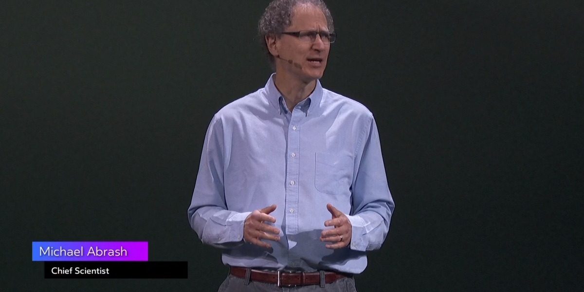 Mike Abrash, chief scientist at Oculus, at OC5.