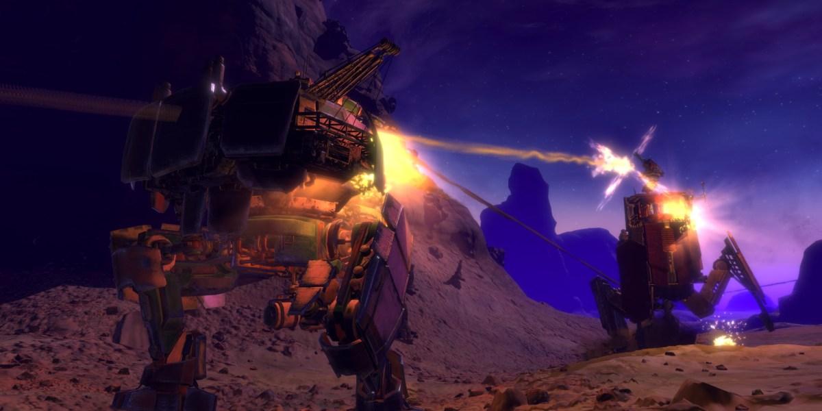 Vox Machinae is heavy-duty mech combat in VR.