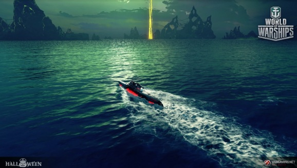 Submarines can go much faster on the surface.
