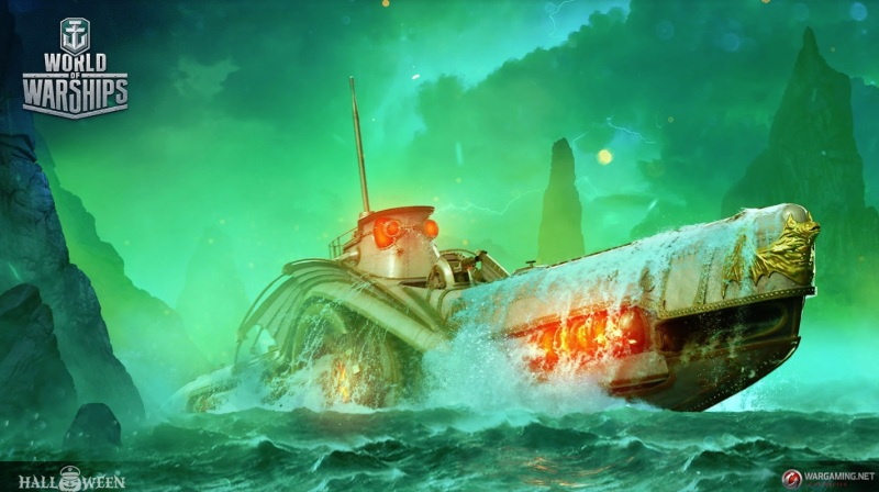 World of Warships is introducing submarines, starting with the Nautilus at Halloween.