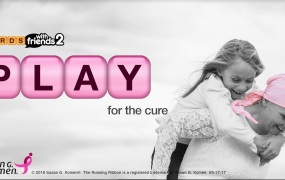 Words With Friends 2 will let you play with Pink Ribbon tiles to raise breast cancer awareness.