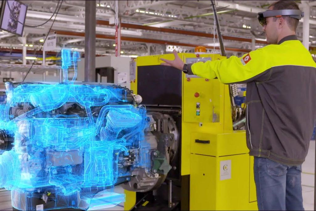 Renault Trucks tests HoloLens to visualize quality control in engine assembly operations -