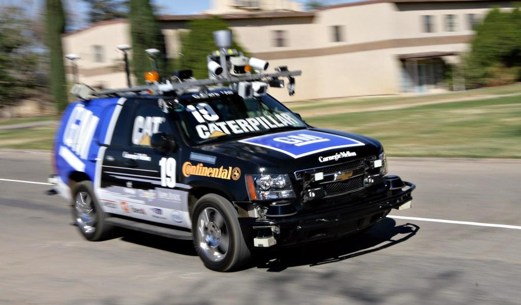 Winner of DARPA's Urban Challenge in 2017