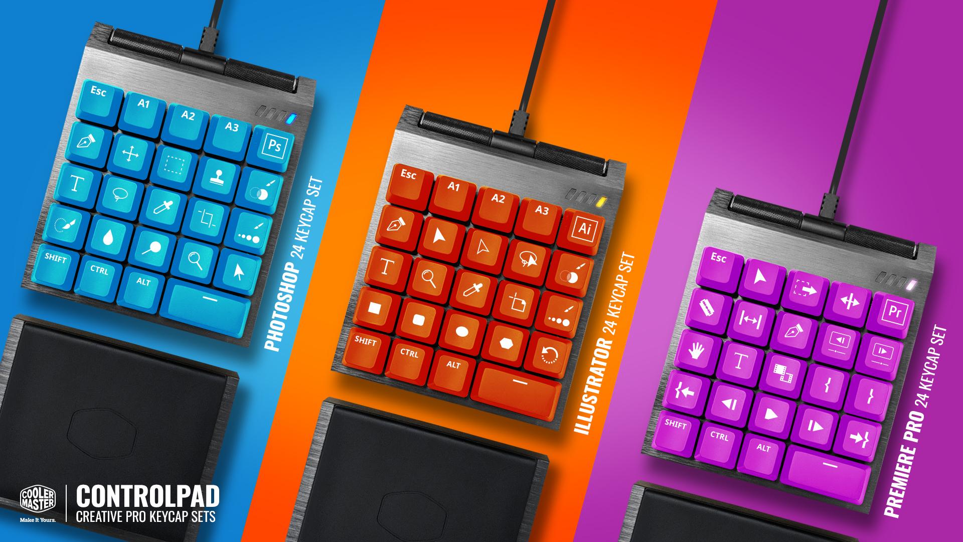 cooler master reaches funding goal for analog key controls venturebeat