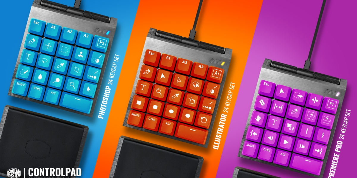 Cooler Master's ControlPad brings nuance to PC keyboard controls.
