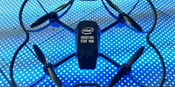 Christmas Spectacular in New York will feature 100 Intel Shooting Star Mini drones