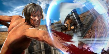 Attack on Titan looks great as a video game. Wonder how it'll fare in VR?