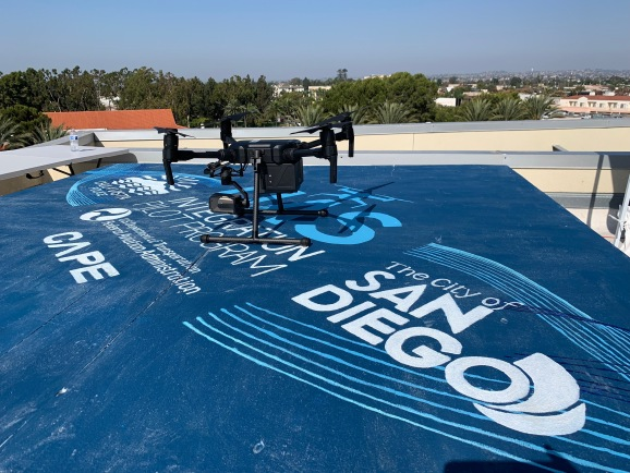 A drone using Cape that will be piloted from