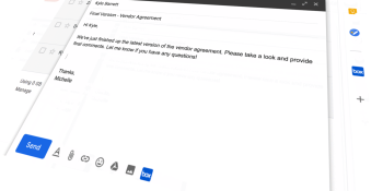G Suite Gmail Add-ons get Compose actions, a direct artery to Box, Atlassian, and other enterprise apps