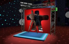Fit It uses HTC Vive Trackers to make you a human Tetris piece.