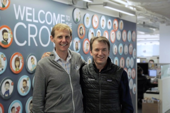 G2 Crowd cofounders Godard Abel (left) and Tim Handorf (right)