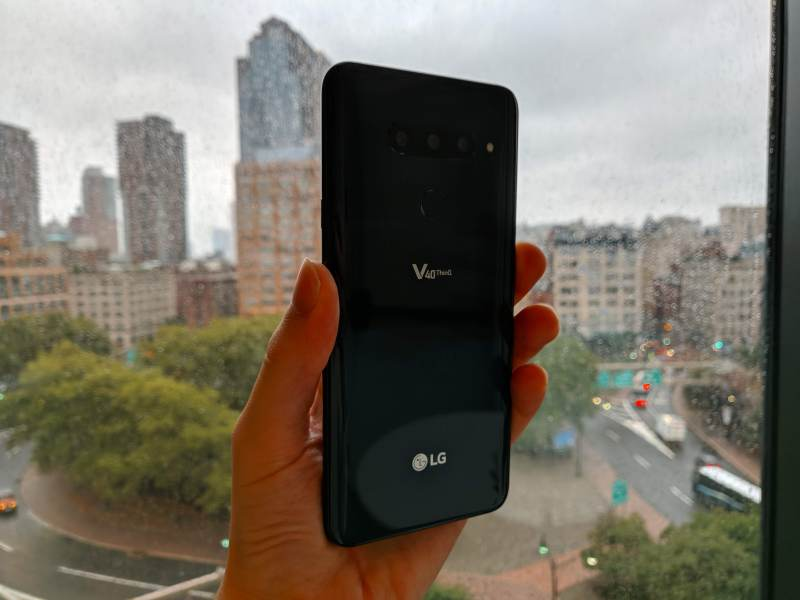 LG V40 review: Even 5 cameras can't spice up a boring phone