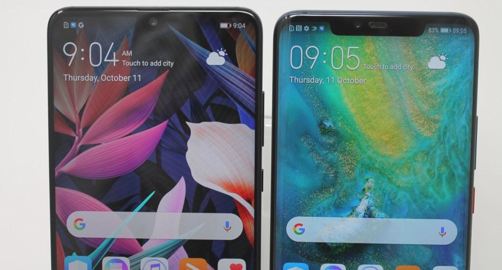 Huawe Mate 20 and Huawei Mate 20 Pro
