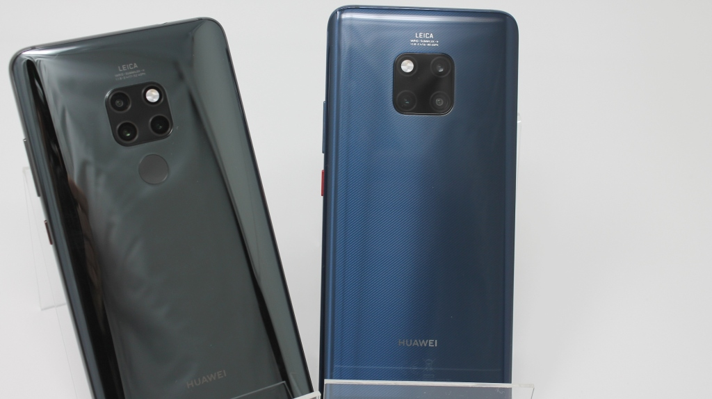 Huawei unveils Mate 20 and Mate 20 Pro with in-screen