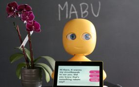 Mabu the robot from Catalia Health