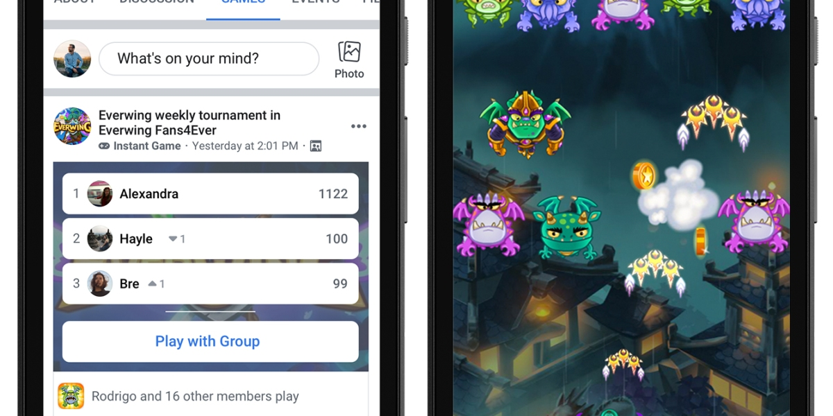 Facebook Instant Games.