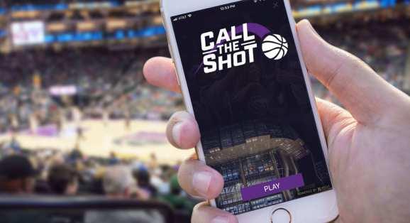 "The Sacramento Kings' ""Call the Shot"" AR game"