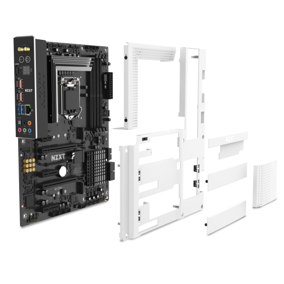 NZXT's second motherboard, the N7 Z390.