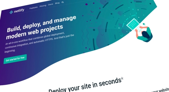 Netlify: Homepage