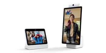 Facebook debuts Portal and Portal+ with AI-enhanced Messenger video calls and Amazon's Alexa