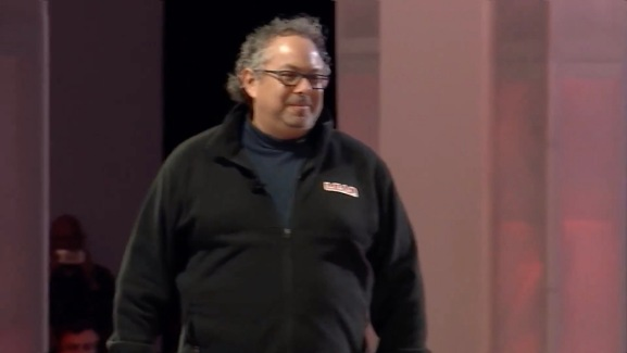 Magic Leap CEO Rony Abovitz speaks at the L.E.A.P. conference in Los Angeles, CA on October 10, 2018.