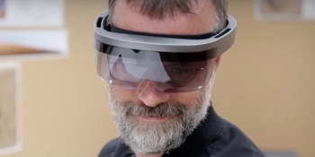 Is this Microsoft's HoloLens 2? (updated: probably not)