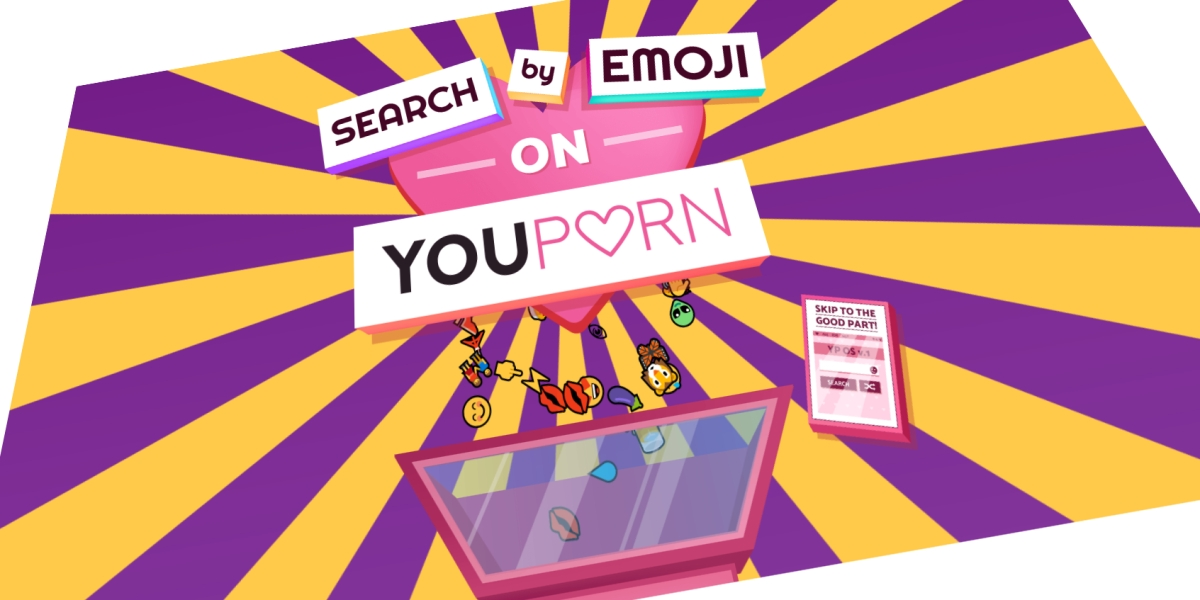 YouPorn: Search by emoji