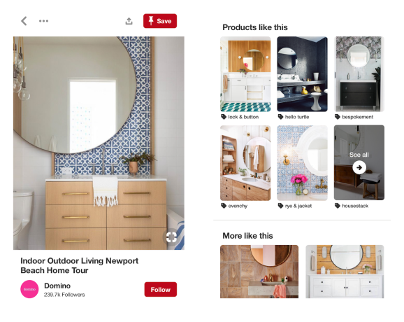 Pinterest adds dynamic pricing, product recommendations for style and home decor | Venture Beat