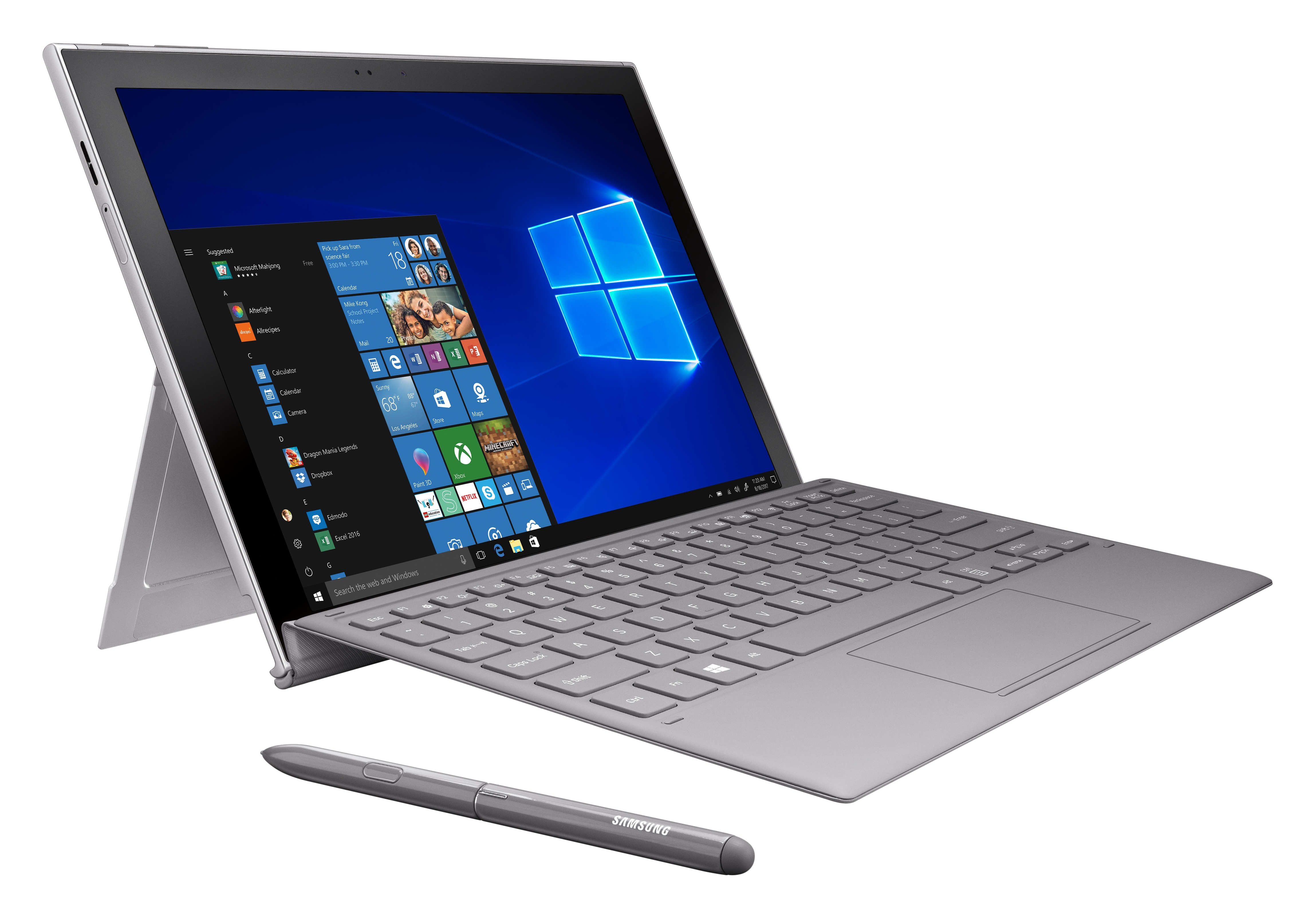 Samsung announces Galaxy Book2, a Windows 10 S laptop with gigabit