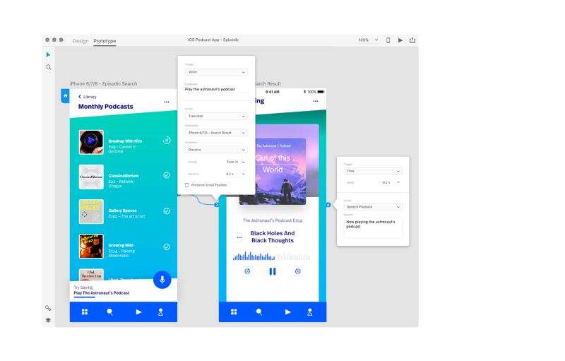 Adobe XD introduces voice prototyping and new UI kit for
