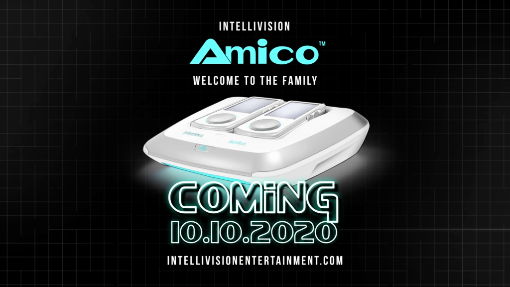 Intellivision Amico launch date of 10-10-2020