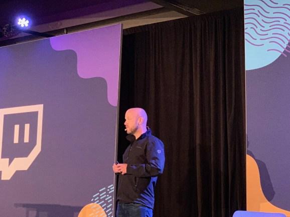 Amir Shevat speaks to developers at TwitchCon 2018.