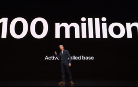 Apple has 100 million active Macs