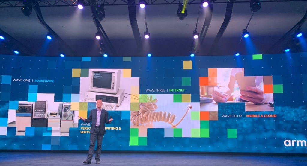 Simon Segers, CEO of Arm, at Arm TechCon 2018.