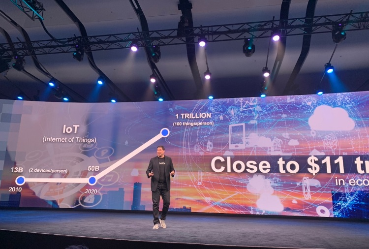 SoftBank believes IoT will drive $11 trillion in value by 2025.