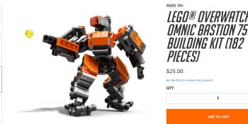 Blizzard is selling a Lego Bastion model right now
