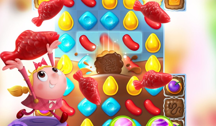 Candy Crush Friends Saga.