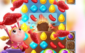Candy Crush Friends Saga.
