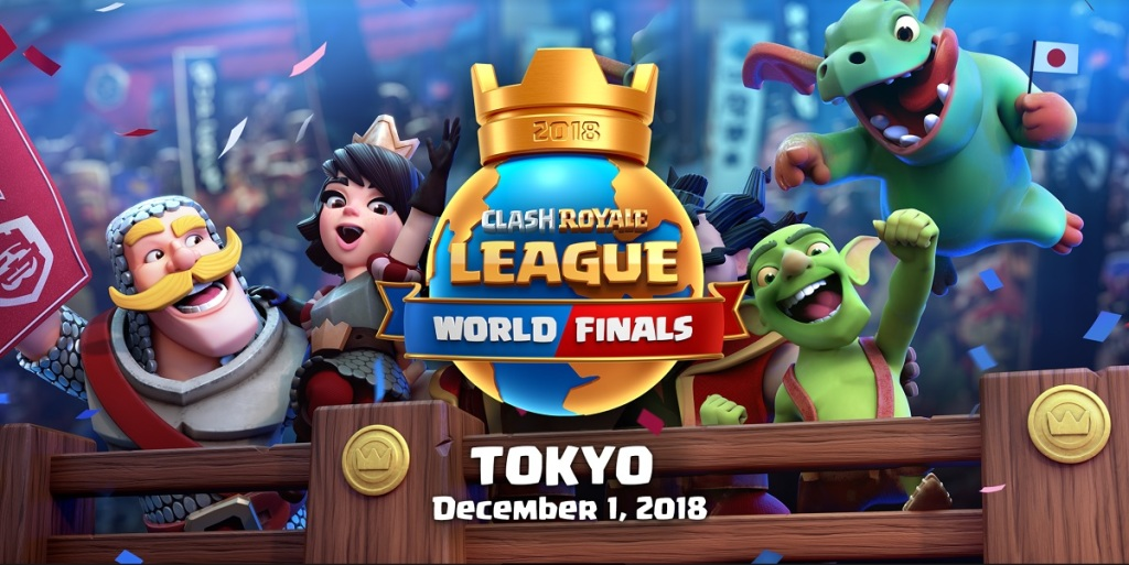 The Clash Royale League world finals are headed to Japan.
